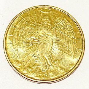 Pocket Guardian Angel For Protection GoodLuck Coin